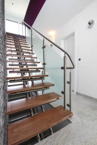 Escalier sur-mesure design inox Moselle 57000 Metz