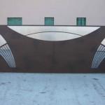 Dessins originaux pour ce portail contemporain
