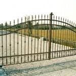 Grand portail de style classique