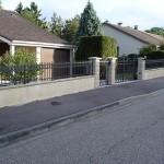Ensemble portail, portillon et clôture