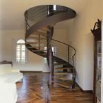 escalier-colimacon-loft-acier-bois