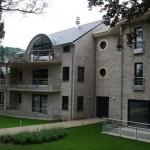 Garde corps extérieur de balcon en inox à Metz GCI22