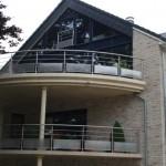 Garde corps extérieur sur mesure design pour résidences GCI24