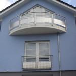 Garde corps de balcons et fenêtres en inox avec motifs à Luxembourg GCI28