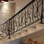 Rampe d'escalier ferronnerie d'art, forgé main à 54000 Nancy