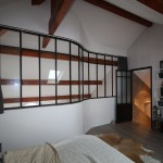 Verrière d'atelier loft en metal à Metz 57000 en Moselle Lorraine