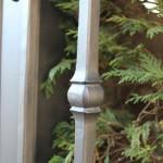 Le balustre forgé et étiré au pilon