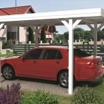 Carport toiture plate A6