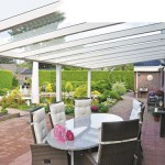 Pergola avec toiture en verre à Hettange Grande 57330 Moselle Loraine P13