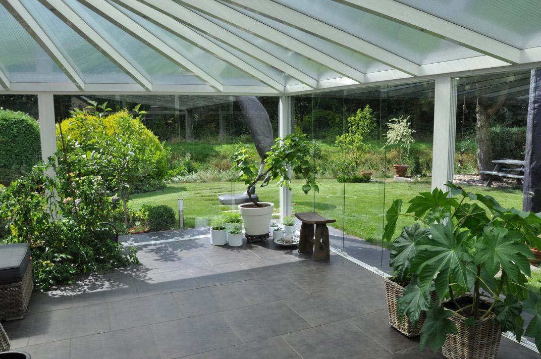 Photos de r alisations de pergolas et jardins d 39 hiver - Jardins dhiver com ...