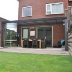 Pergolas sur mesure a paroie coulissante et toiture en verre en Alsace-Lorraine P18