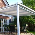 Voile de toiture pour pergolas ou toiture de terrasse ST8