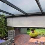 Store d'ombrage vertical pour véranda-pergolas ST2