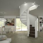 Escalier design de prestige DEI015
