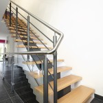 escalier poutre centrale crémaillère EC16