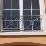 Garde-corps inox pour fenêtres