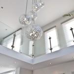 Garde-corps verre pour intérieur design