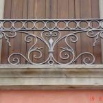 Fer forgé pour ce balcon au style classique