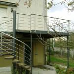 Terrasse extérieure surélevée en acier galvanisé (57500) P9