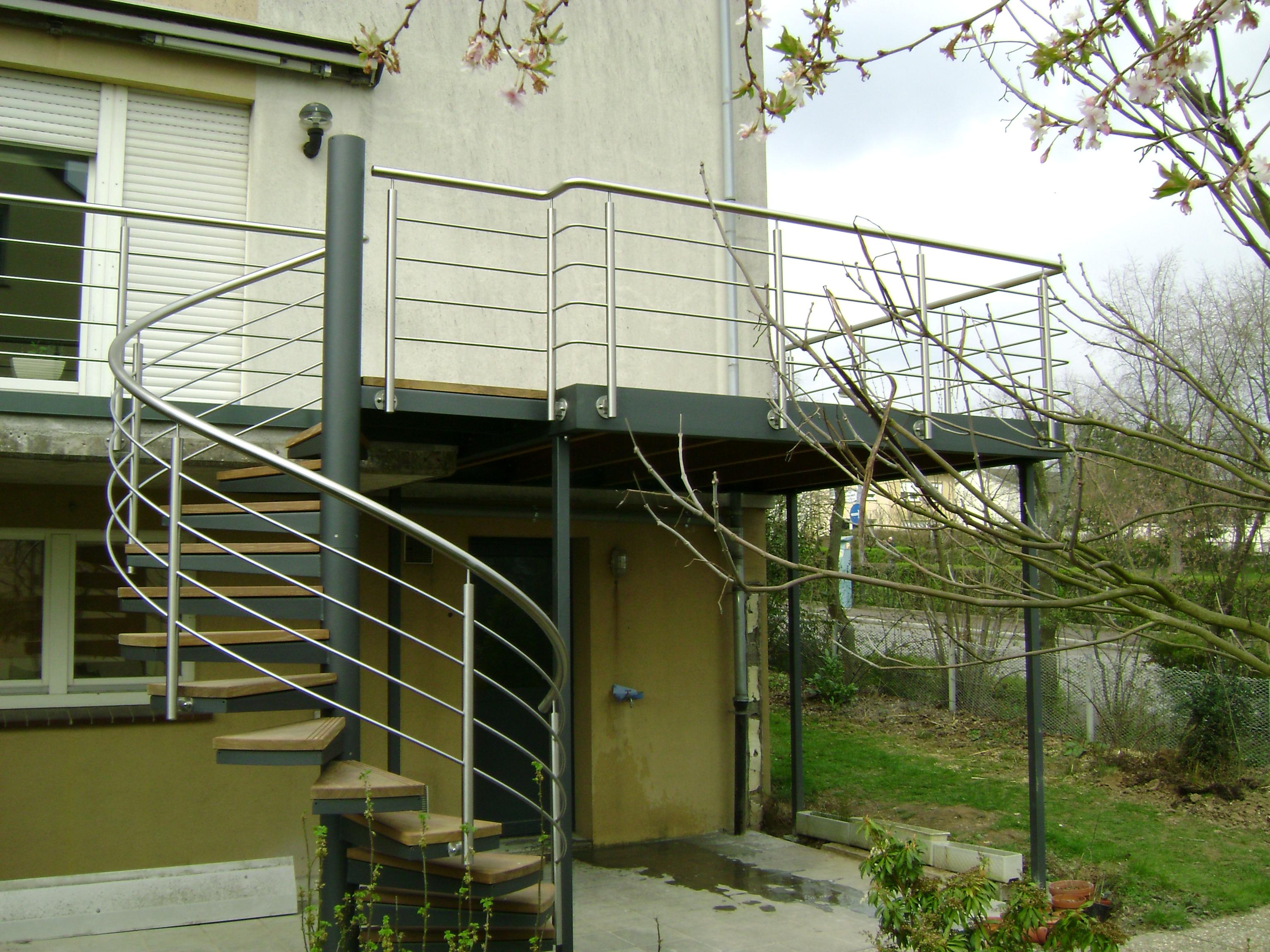 Terrasse Surélevée En Acier terrasse extérieure surélevée en acier galvanisé (57500) p9