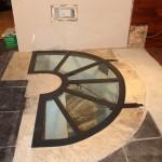 Trappe de sol ou trappe de cave en verre et acier en Meuthe et Moselle Lorraine