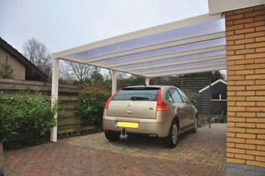 cd8ac0a1faa8f Carport avec toiture cintrée · Grand abri de voiture. Grand abri de voiture