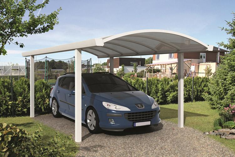 1bc1df502fa02 Carport avec toiture cintrée