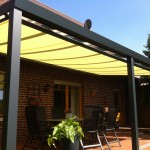 Protections solaires pour pergola