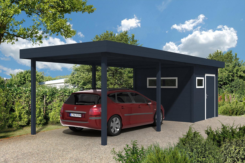 carport l 39 abri de voiture sur mesure l gant et design. Black Bedroom Furniture Sets. Home Design Ideas