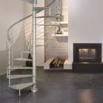 escalier en colimaçon acier