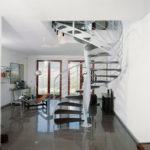 escalier acier design
