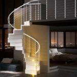 escalier sur-mesure design